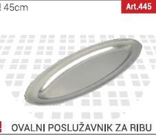 oval za ribu 45